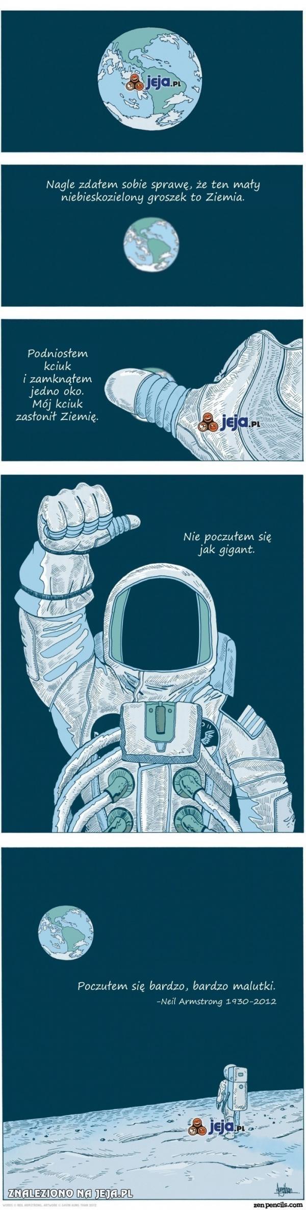 Jak Neil Armstrong czuł się na Księżycu