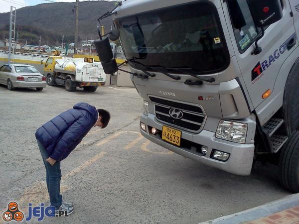 Koreańskie przywitanie