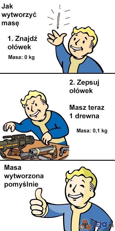 Jak wytworzyć masę
