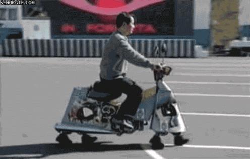 Chodzący skuter