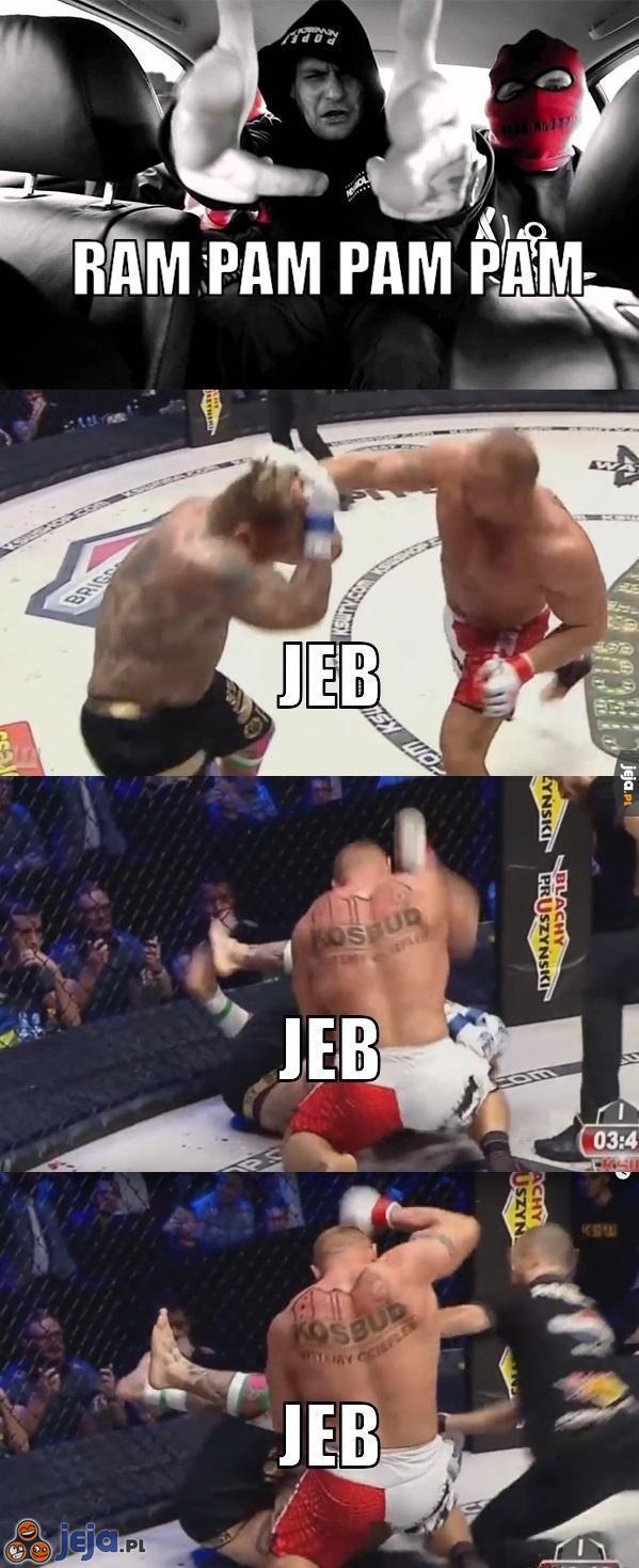 Pudzianowski vs Popek