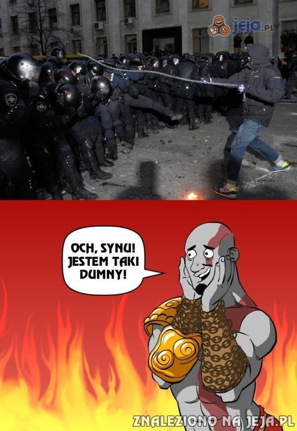 Kratos jest dumny
