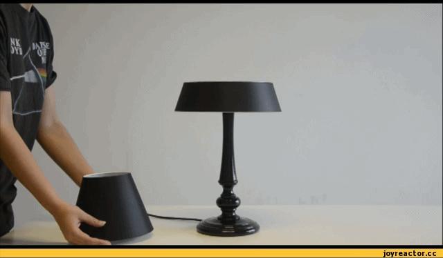 Lewitująca lampka