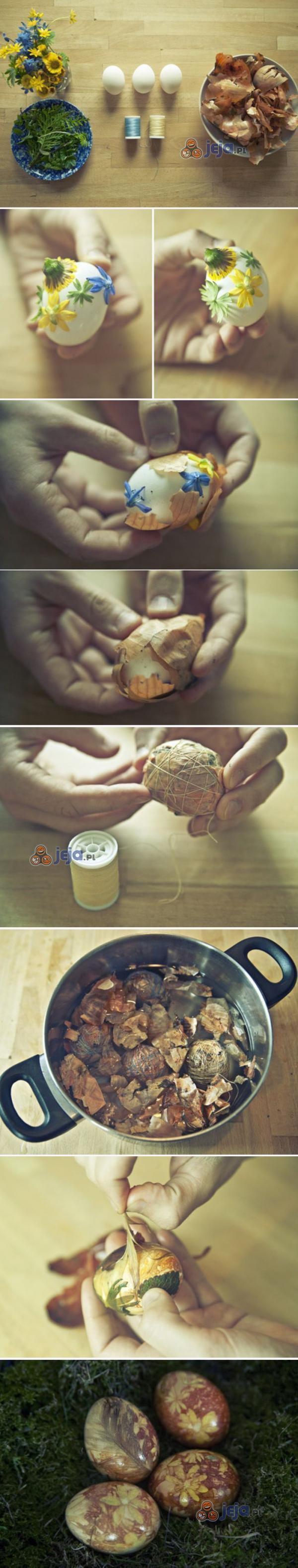 Kreatywny sposób na wielkanocne jajka