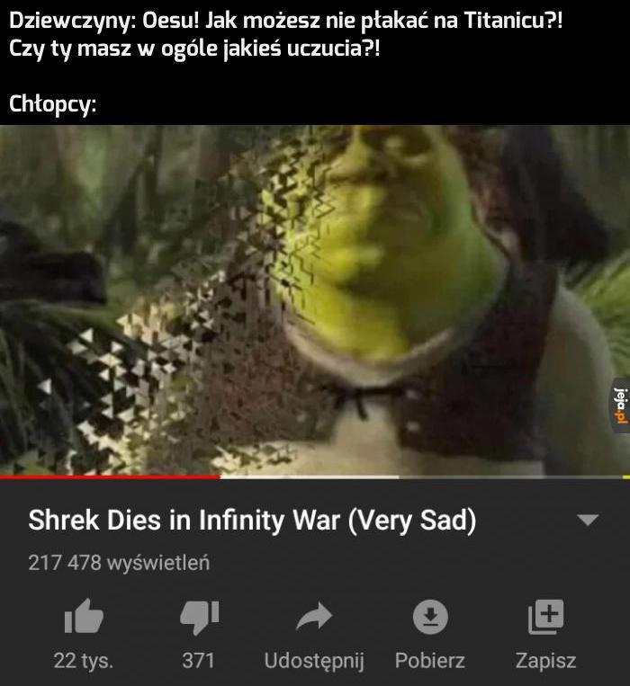 Płakałem... i płakać będę