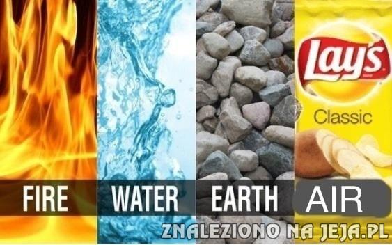 4 żywioły