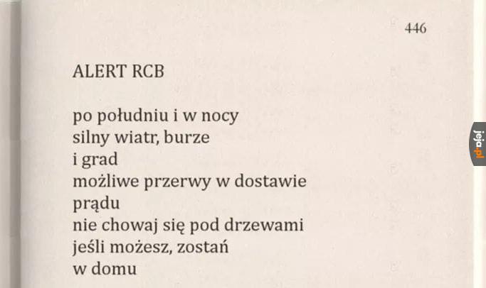 Poezja bardzo współczesna