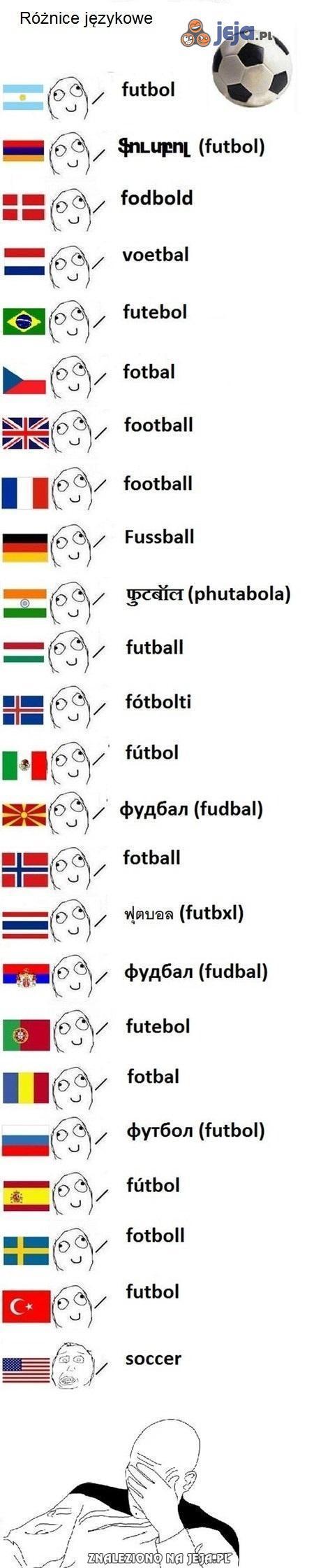 Ach, te różnice językowe...