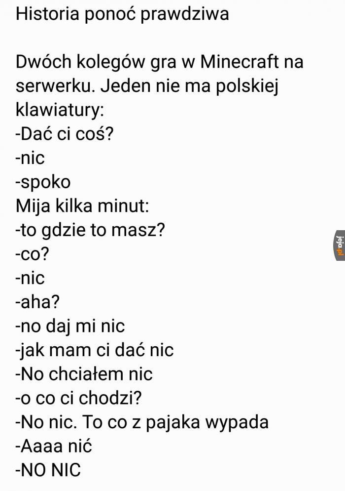 Ciężko żyć bez polskich znaków