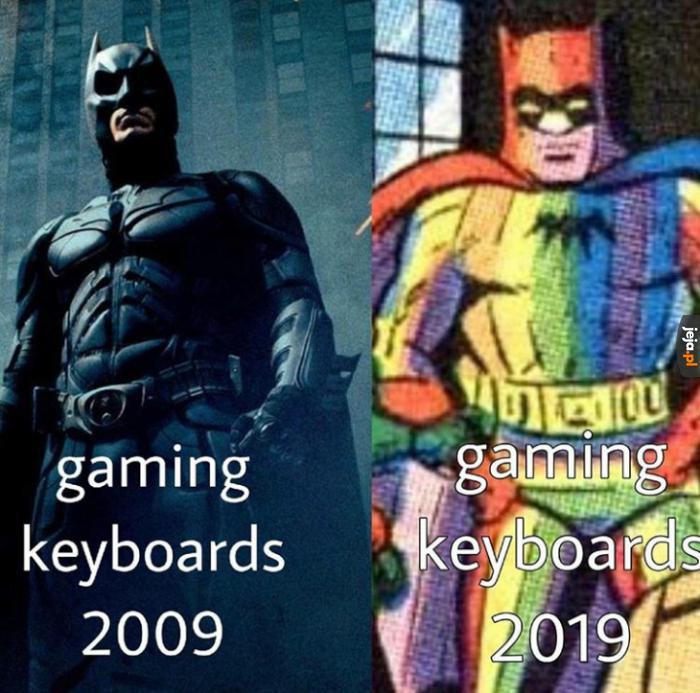 A jak wygląda Twoja klawiatura dla gracza?