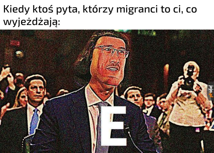 I czy E?
