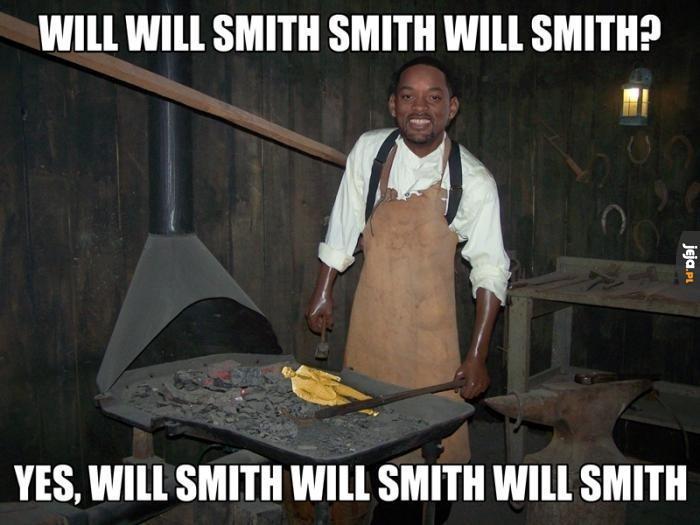 Will Smith smith?