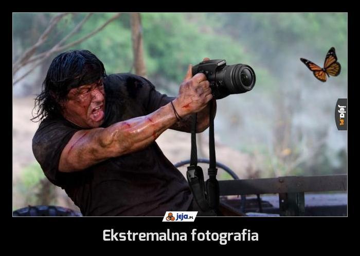 Ekstremalna fotografia