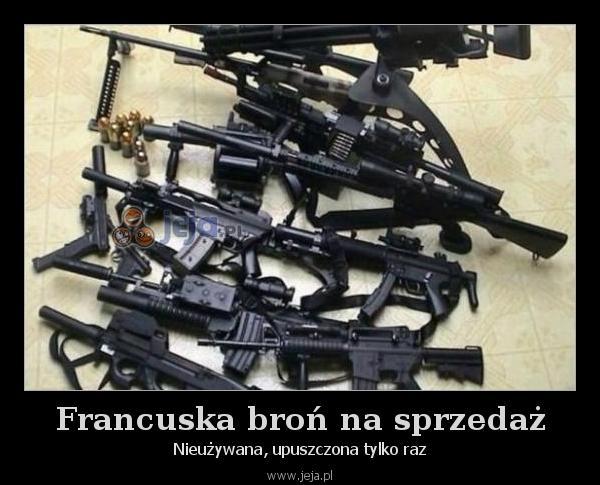 Francuska broń na sprzedaż