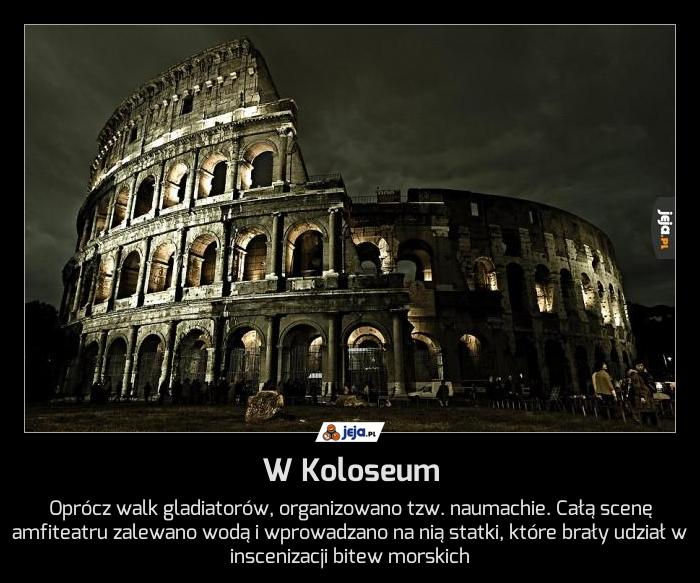 W Koloseum