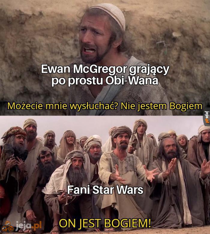 Ewan ma duży szacunek u fanów