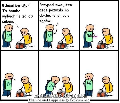 Education-Man