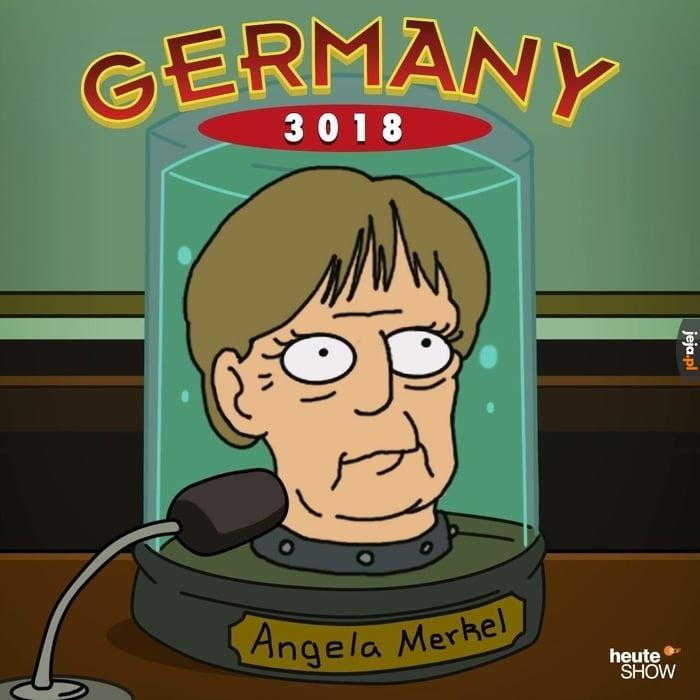 A u Niemców bez zmian