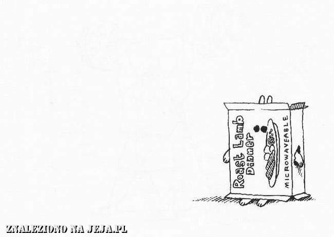Samobójstwa zajączka: Zajączek na obiad