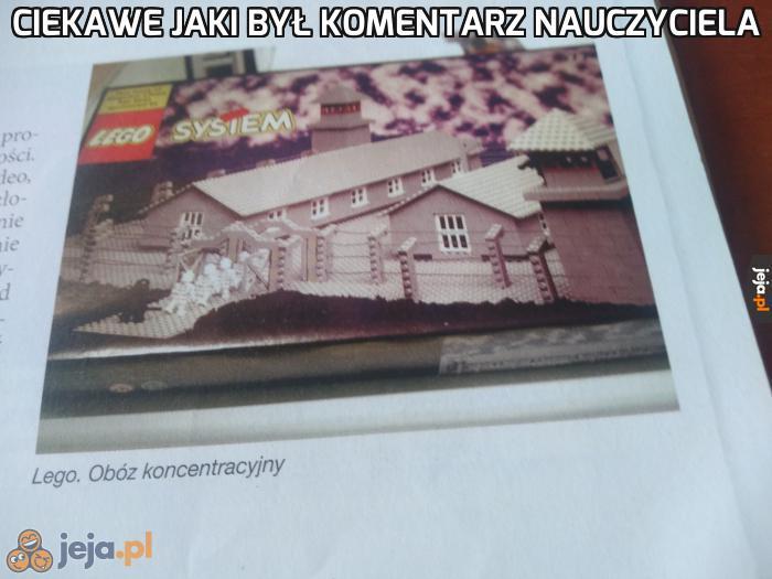 Przynajmniej nie napisane, że polskie