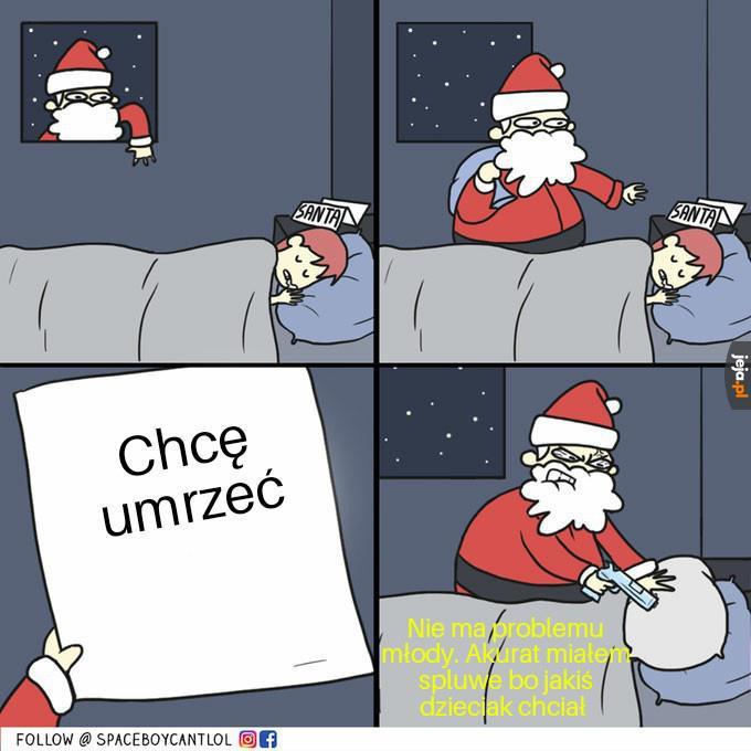 Mikołaj zawsze pomoże
