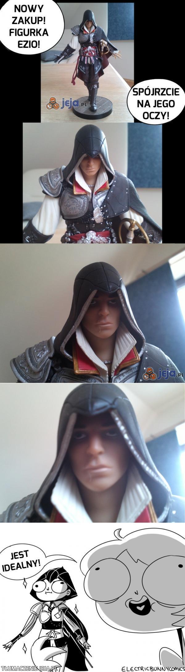 Ezio jest idealny!