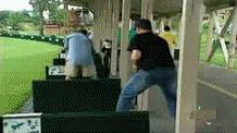 Zaskoczenie na polu golfowym