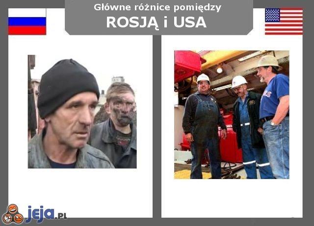 Rosja vs USA - Robotnicy