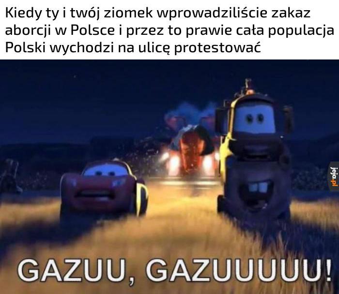 Spadamy!