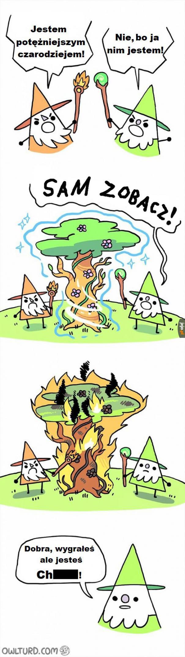 Potężny czarodziej