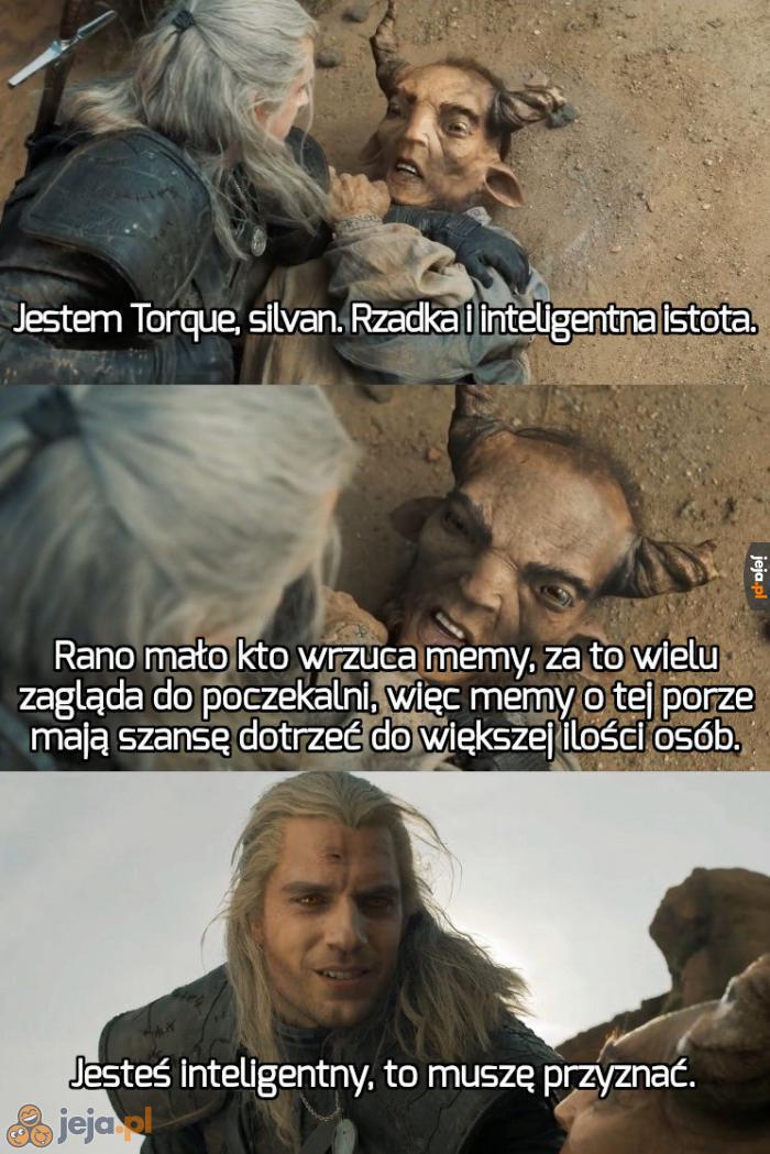 Zawsze jest dobrze dodać mema