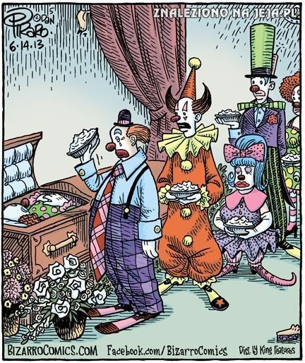 Pogrzeb klauna