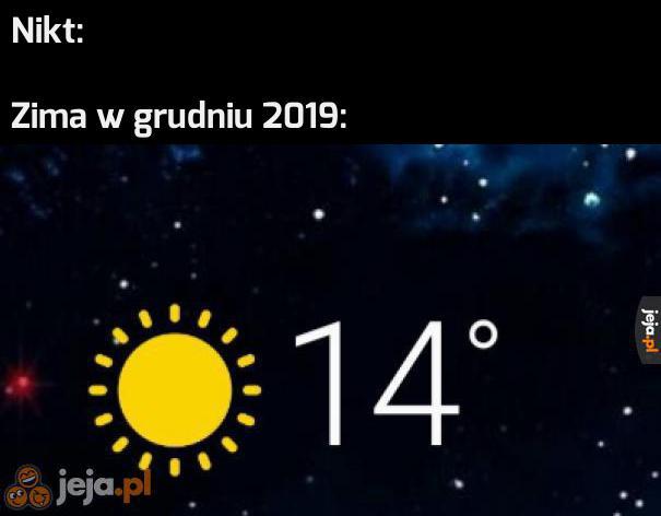 Globalne ocieplenie?