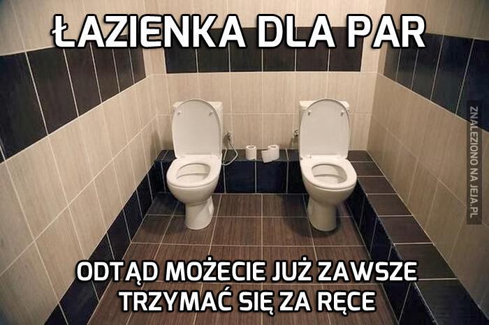 Łazienka dla par