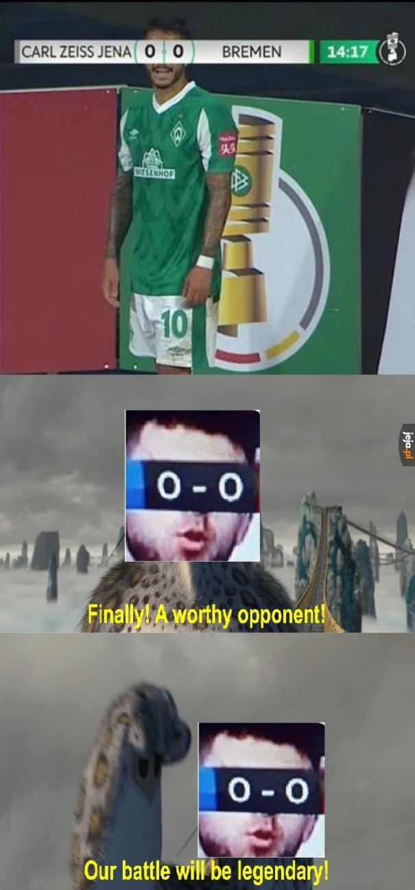 W końcu godny przeciwnik