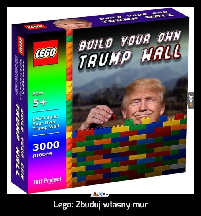 Lego: Zbuduj własny mur