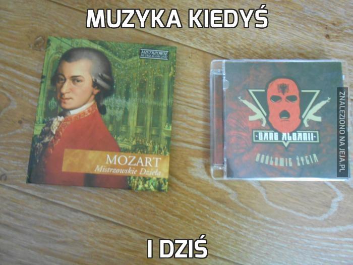 Muzyka kiedyś