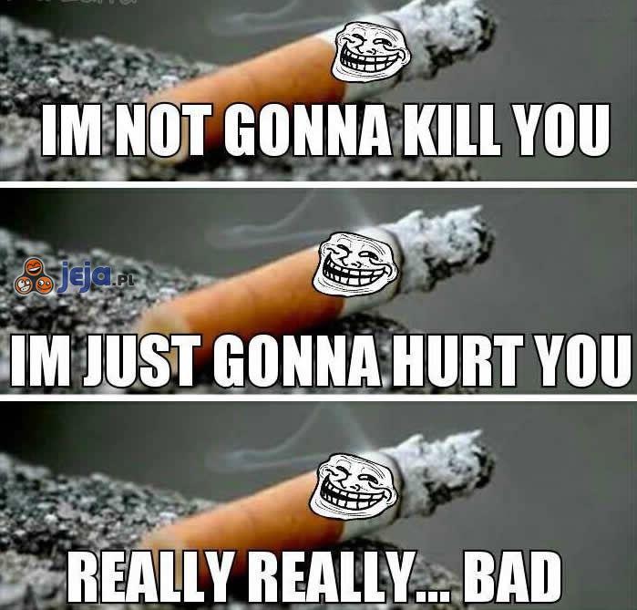 Nikczemne papierosy