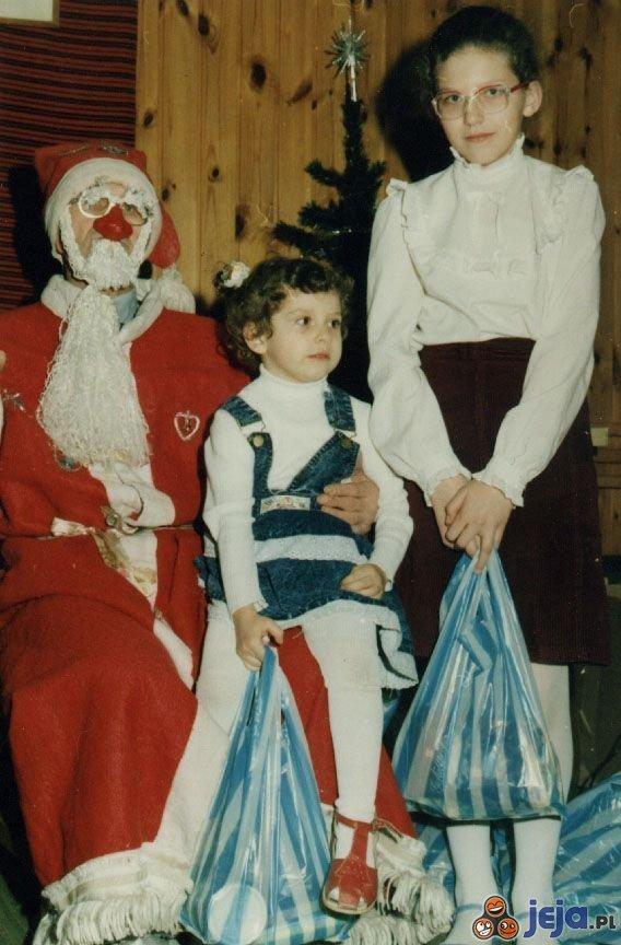 Święty Mikołaj 20 lat temu