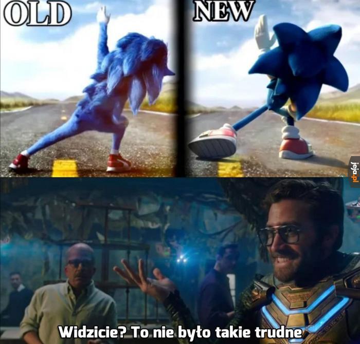 Nowy Sonic wygląda lepiej