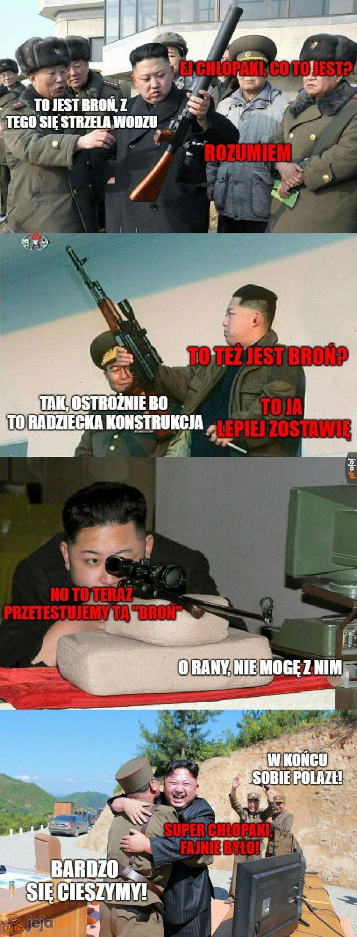 I tak to się żyje w tej Korei...