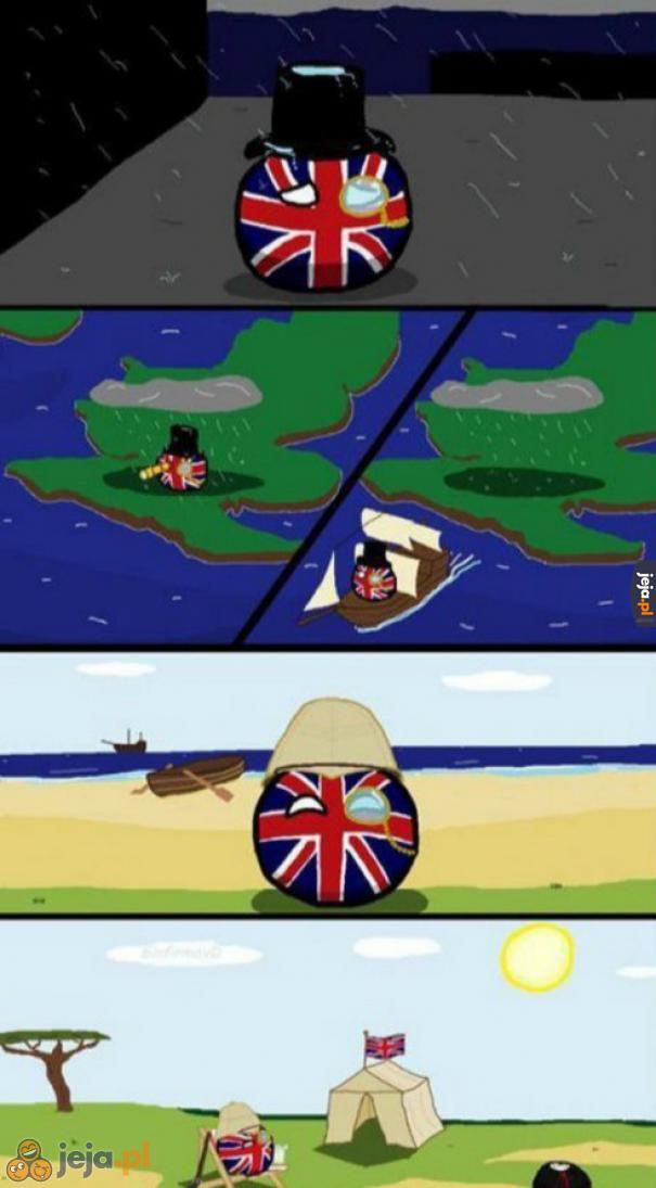 Prawdziwy powód kolonizacji