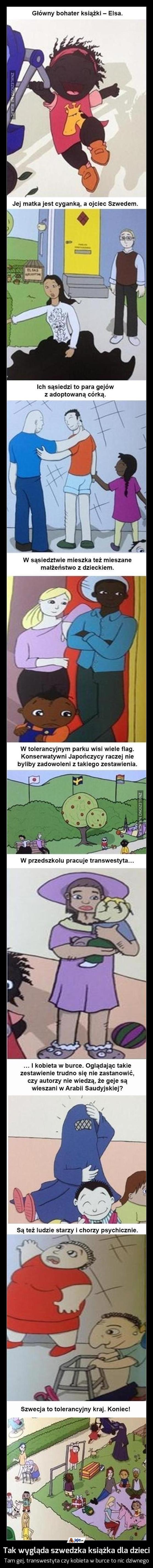 Tak wygląda szwedzka książka dla dzieci