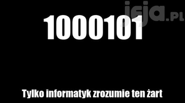 Żart dla informatyka
