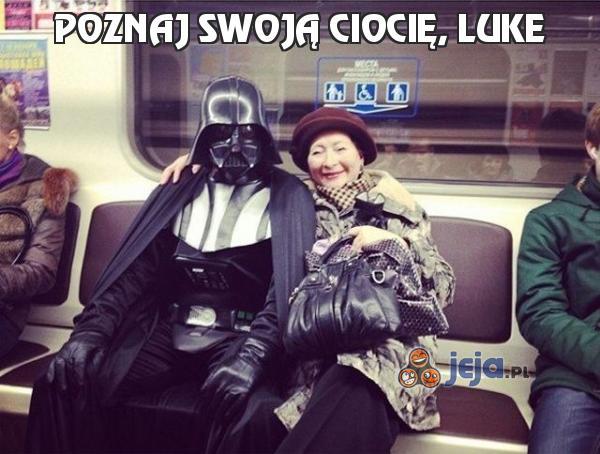 Poznaj swoją ciocię, Luke