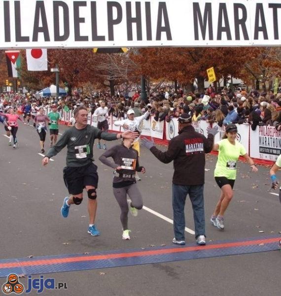 Na maratonie