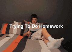 Gdy próbujesz się uczyć