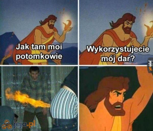 Prometeusz i ogień