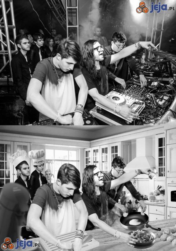 DJ'e w kuchni