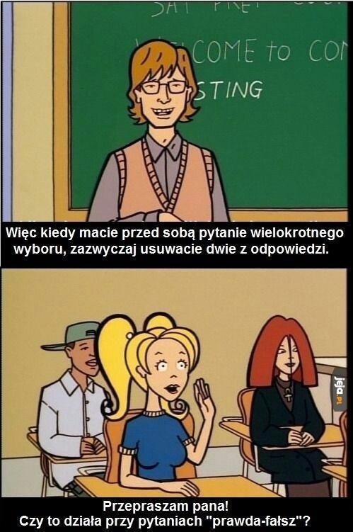 Blondynki...